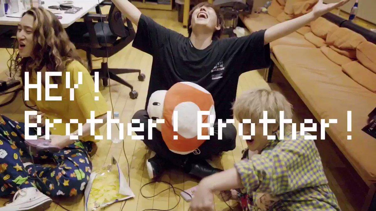 【Amber's × IKE(SPYAIR)MV公開🎉】  ————————————— Amber's feat.IKE from SPYAIR      『ブラザーブラザー』▶︎▶︎  —————————————