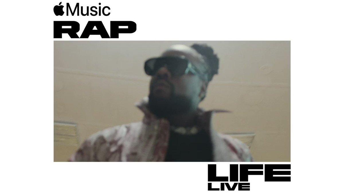 Run it back my #RapLifeLive performance captured at @HowardU on @AppleMusic:apple.co/RapsodyRapLife