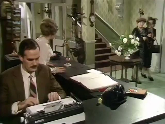 45 years later and I still havent hung up the picture. Fawlty Towers premiered on this day in 1975. What was your favourite line?
