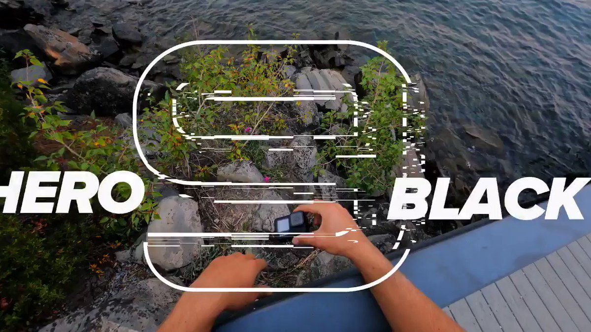 Image for the Tweet beginning: #GoProHERO9 Black packs Power Tools—a