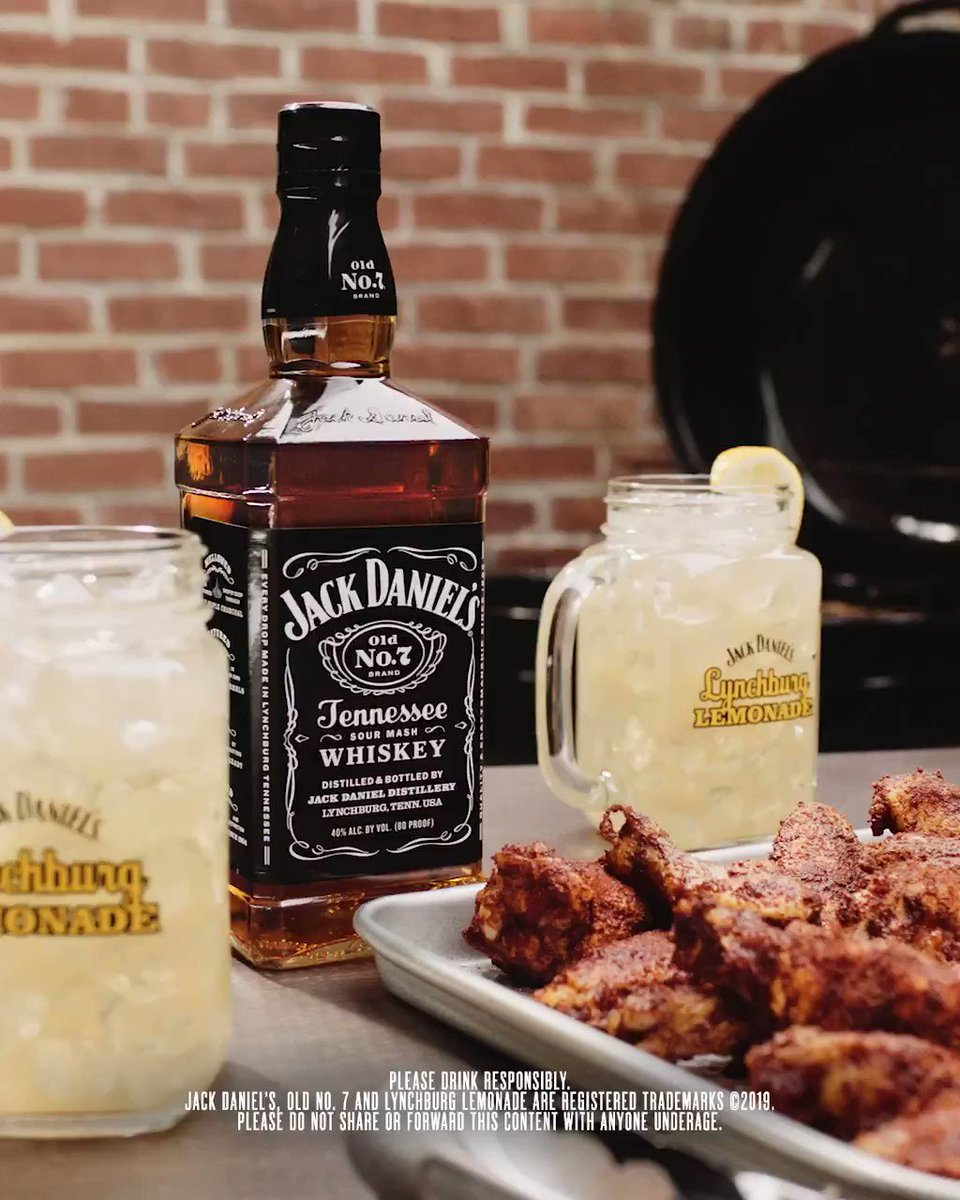 Image for the Tweet beginning: Cheers to Jack and cookouts. #JackDaniels