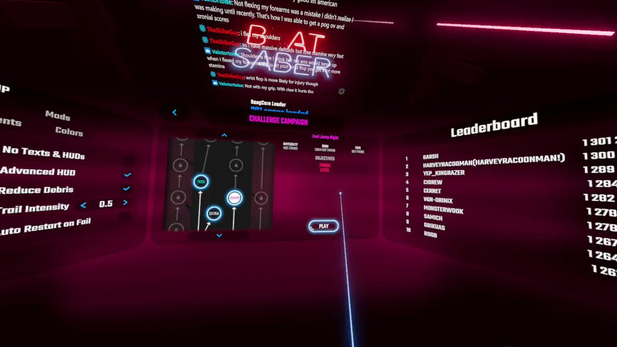 Shannooty - Sums up my @BeatSaber experience
