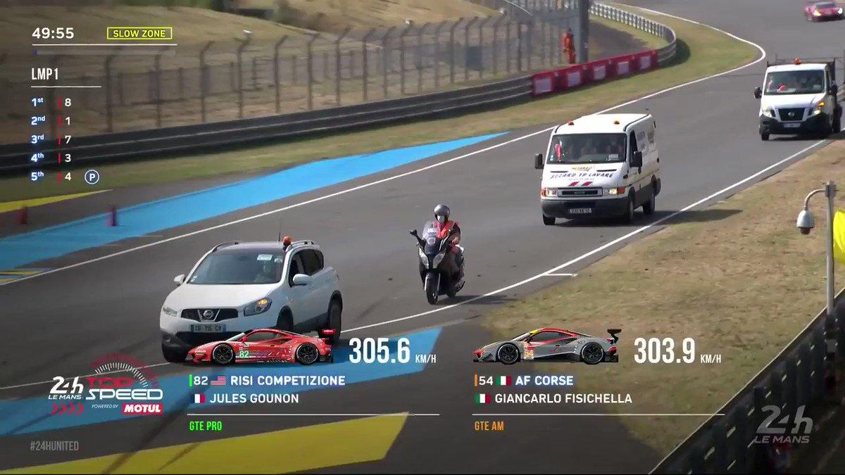 #LeMans24 update  1️⃣ Nissan Qashqai 2️⃣ Scooter 3️⃣ Van   Who've you got for the win?    https://t.co/IQLUcUzW5l