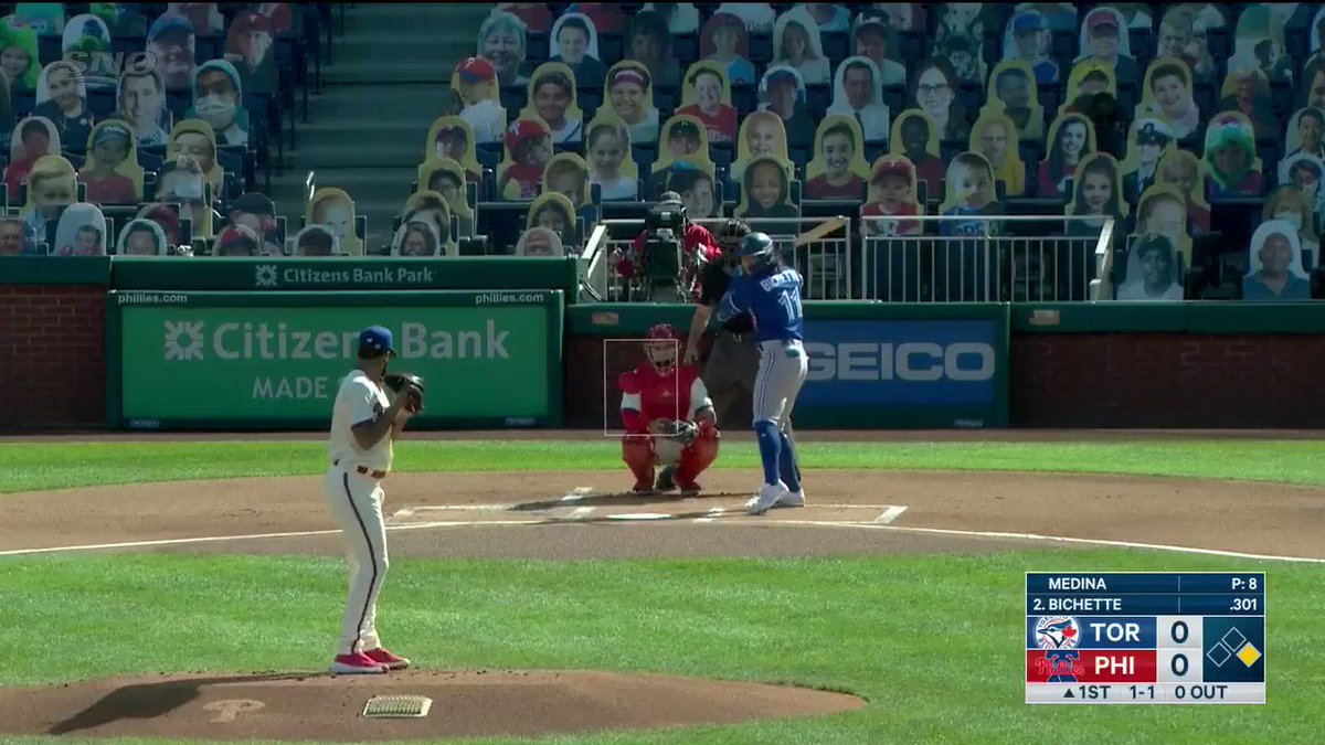 Bo KNOWS. Watch the @BlueJays series finale vs. the @Phillies NOW on Sportsnet. #BlueJaysOnSN