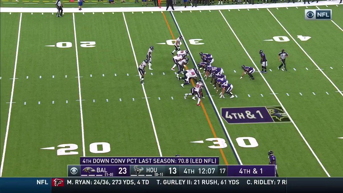 ¡Nadie puede alcanzar a Mark Ingram! @Ravens 30 - 13 @HoustonTexans #NFL #BALvsHOU