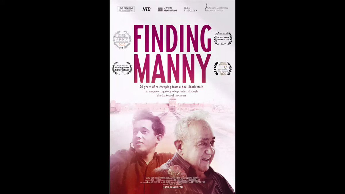 📺Thrilled to announce the FINDING MANNY world premiere! It's about my #Holocaust survivor father-in-law.  Thurs Sept 24 at @ABQFilmX Tickets👉https://t.co/OTQEF6u5rf  Then our film *opens* the @MovingPartsFest Sat Sept 26 Tickets👉https://t.co/ZucqfMHGX9  https://t.co/QkGTQs3H0A https://t.co/FvWkFhnSF4