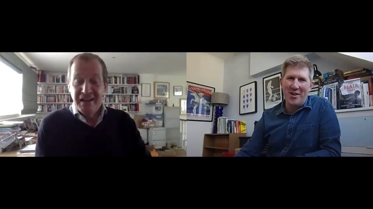 Image for the Tweet beginning: Podcast with @campbellclaret on his