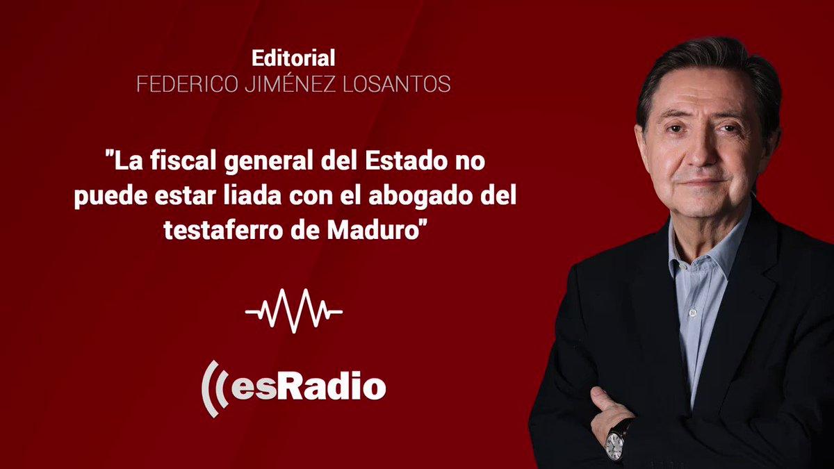 Image for the Tweet beginning: #Editorial de Federico Jiménez Losantos