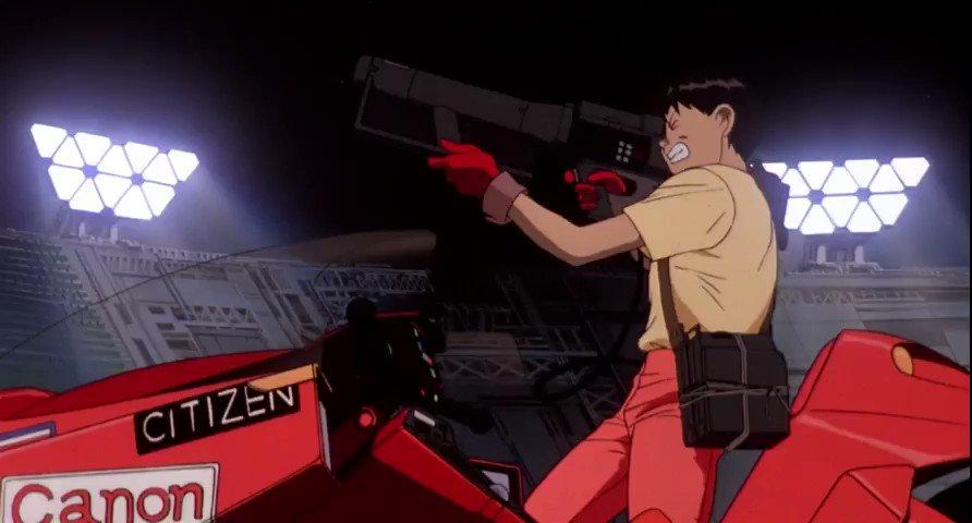Key Animation: Toshio Kawaguchi (河口 俊夫)Movie: AKIRA (アキラ) (1988)