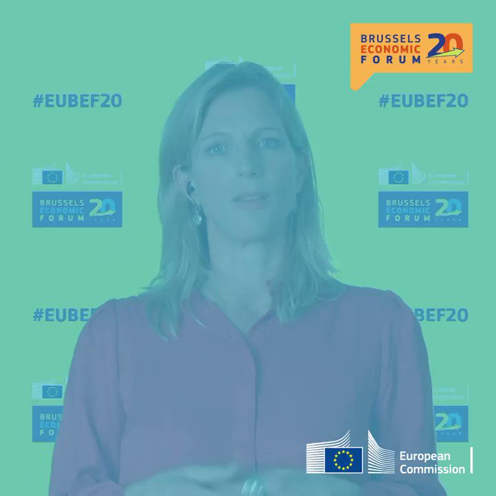 🌱A green and social deal  🔧Rebuilding better  These are some of the topics @beyond_ideology and @MESandbu touched upon during the #EUBEF20 debate on  a new European economy after #coronavirus.   Watch more here 👉https://t.co/gESYLBNJcz https://t.co/6O4eZNdjev