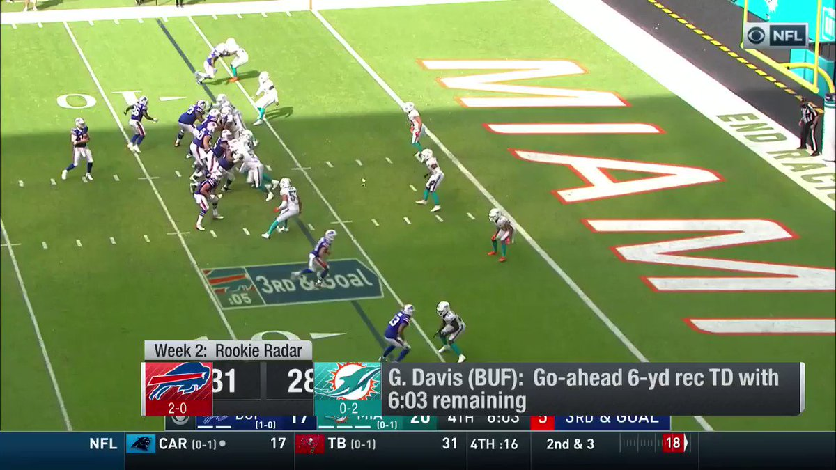 A @BuffaloBills rookie has my attention... I can't stop watching this @nflnetwork