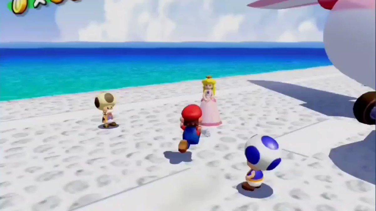 Mario Kidnaps Princess Peach
