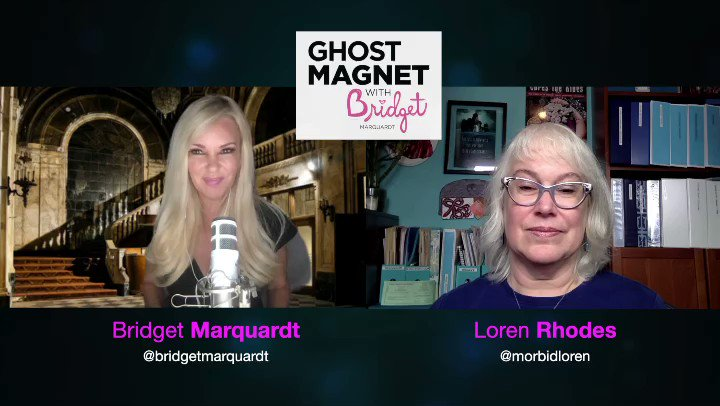 "👻🧲New Ghost Magnet Podcast Eposode👻🧲 This week my guest is Loren Rhoads @morbidloren & we're talking about her book ""199 cemeteries to see before you die"", with all that time spent in cemeteries, has she ever seen a ghost? Listen to find out!  #ghosts #ghostmagnet #cemetery https://t.co/QPElPr2BdY"