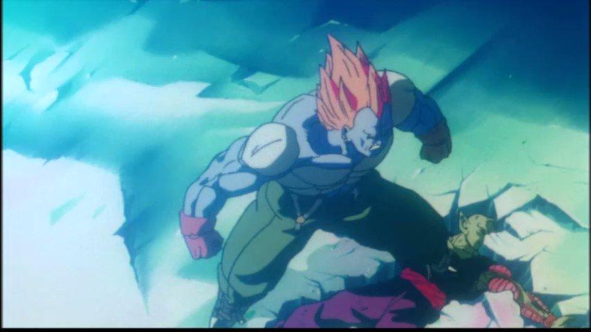 SSJ Goku (悟空) vs. Super Android 13 (人造人間13号).