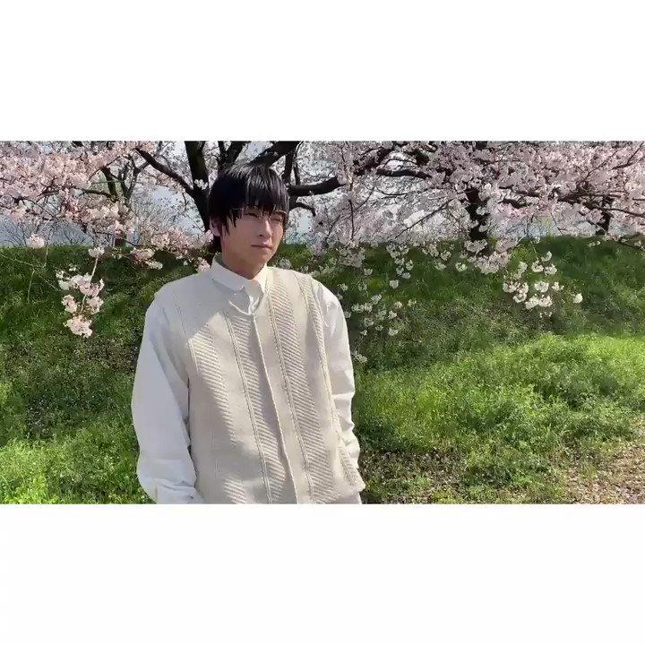 荒牧慶彦写真集『Seasons〜春夏秋冬〜』桜と荒牧。#荒牧慶彦#春夏秋冬