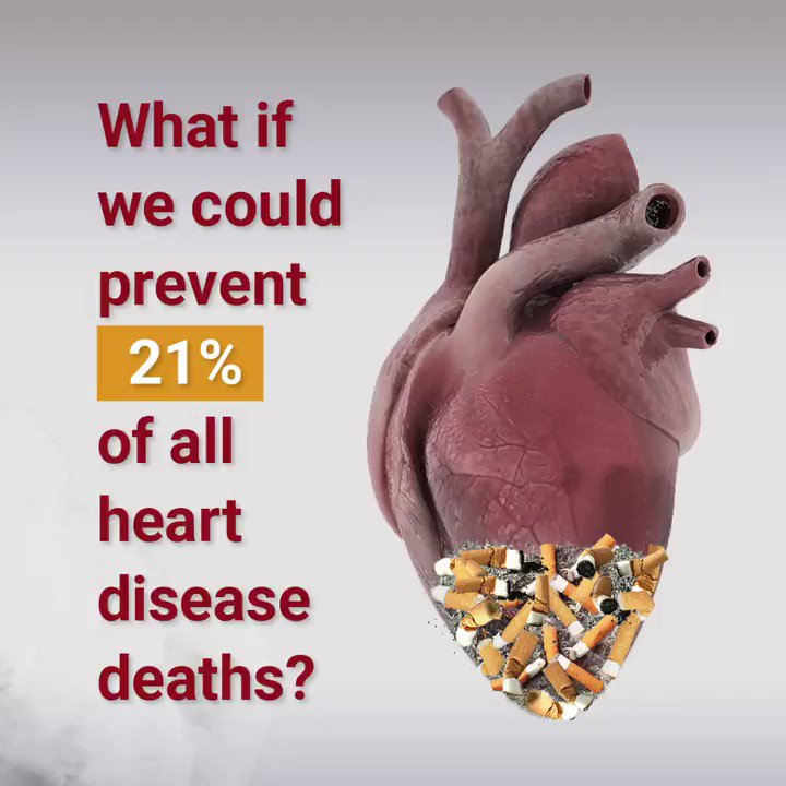 Image for the Tweet beginning: Tobacco use harms your cardiovascular