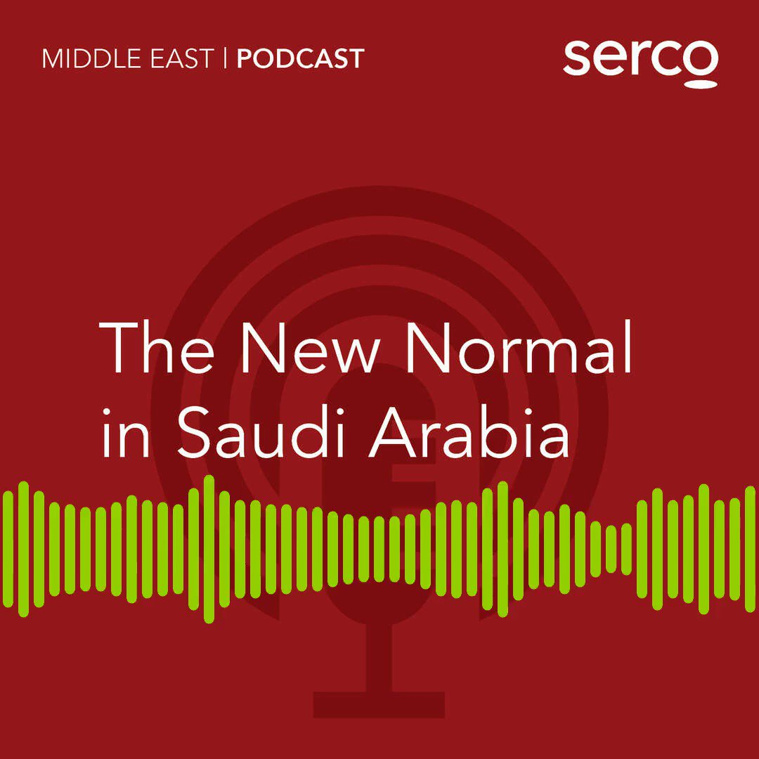 We're delighted to support @SercoMiddleEast on their first ever podcast series, the fourth episode has been created in the lead up to Saudi National Day, looking at what the new normal in Saudi Arabia looks like, and is available here: https://t.co/1SFJMl0Xfo