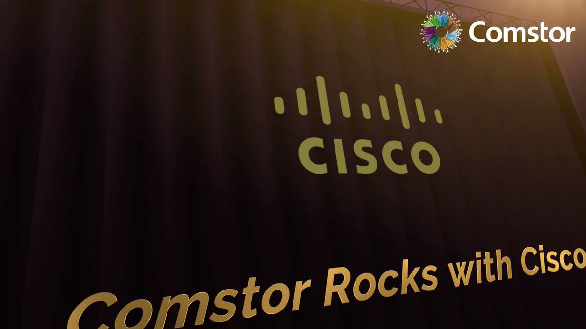 Image for the Tweet beginning: Comstor is ready to Rock