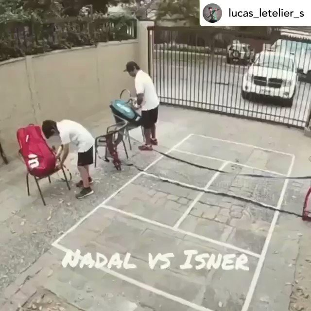 Credit: Lucas_Letilier_S Instagram  This impression by Lucas is so good that even @RafaelNadal is impressed, you must be quite the fan 👏👏👏  To celebrate, we want to send you a special gift from the King of Clay 🎾  #Kia #KiaTennis #GetRafaMoving #RandomActsofKindness https://t.co/VTIY96OgHC