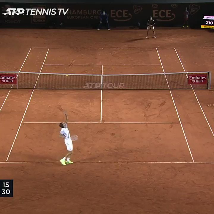 His FIRST Top 🔟 win 👏  🇫🇷 @HumbertUgo stuns top seed Medvedev 6-4, 6-3.  @hamburgopen | #HamburgOpen https://t.co/yT6lOfyqQJ