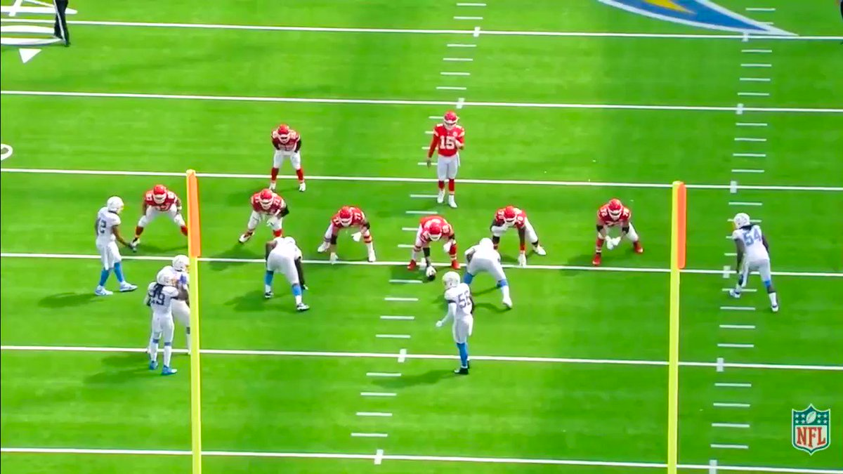 Image for the Tweet beginning: Next tactic the Chargers tried