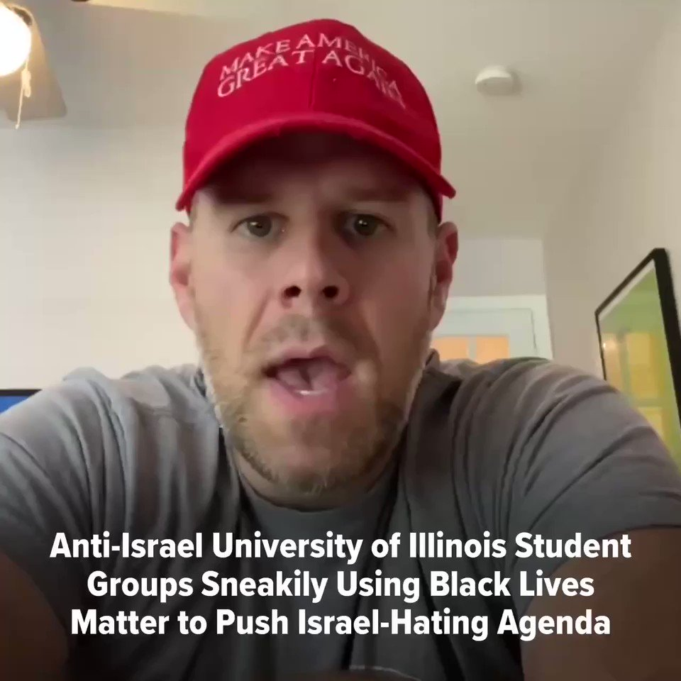 Leftist @Illinois_Alma students are using the Black Lives Matter movement to push their anti-Israel, anti-Semitic agenda! Theyre trying to pass a resolution calling to defund the police and boycott Israel. No Black groups are involved or sponsored this resolution. #exposed