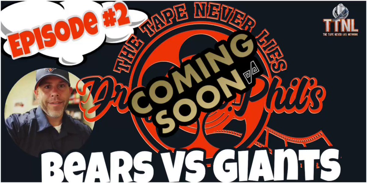#TTNL for Wk2 is being edited right now & will be uploaded tomorrow (9/23) around 12pm ET. Head over to our YouTube page to SUBSCRIBE & set your alerts for when new content is going LIVE or is uploaded. youtube.com/c/TheTapeNever… #Bears #NFL #TheTapeNeverLies #100Crew #SpencerStrong