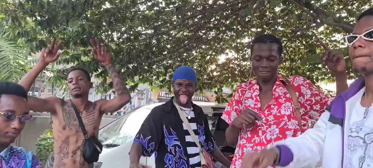 Tanzanian Youth Dancing to the track in my Francesca Album Trevor Noah. Grateful