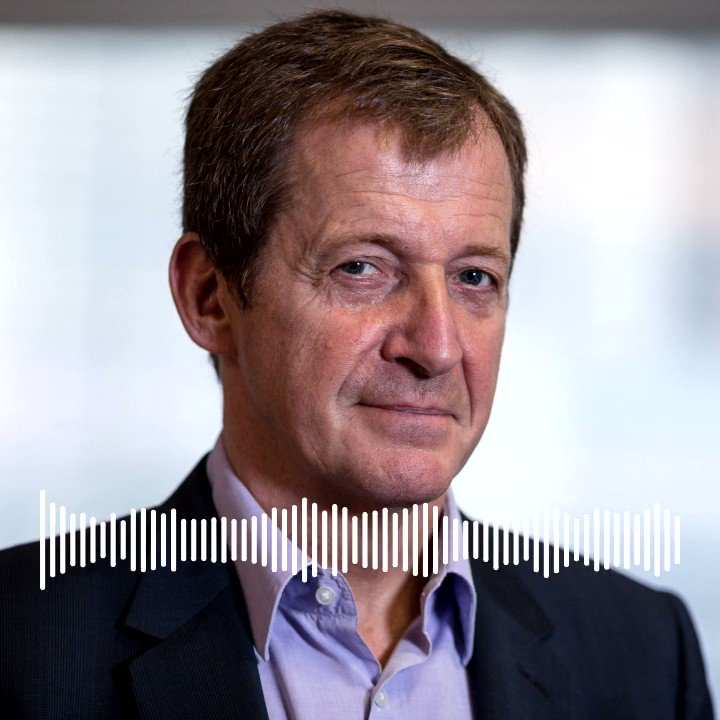 Image for the Tweet beginning: Alastair Campbell on his favourite