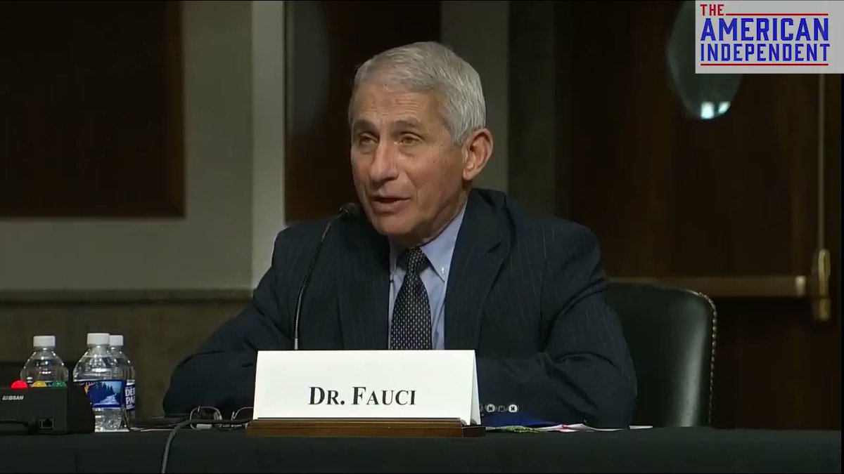 """FAUCI to Sen. Paul: """"You are not listening ... If you believe that 22% is 'herd immunity', I believe you're alone in that.""""  https://t.co/WykoaZwRT3"""