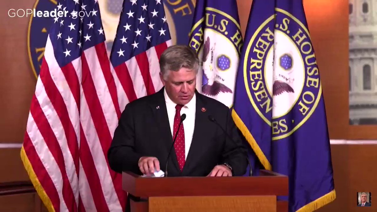 I joined the @HouseGOP press conference this morning to discuss our commitment to restoring the American way of life by defeating the virus, keeping our communities safe, and protecting the freedoms we hold dear. #CommitmentToAmerica https://t.co/2QRUInWjUn