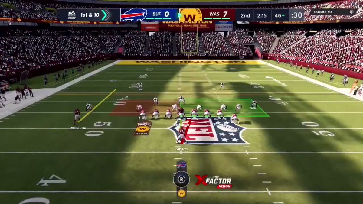 Josh Norman & the @BuffaloBills made some noise against us last week in our @WashingtonNFL @EAMaddenNFL GOTW on @Twitch , make sure you catch up before today's episode below‼️👇🏻😂  https://t.co/dOF0QZNvep  #WashingtonBrawl #BrawlNetwork https://t.co/LzHJ0q6BQ6