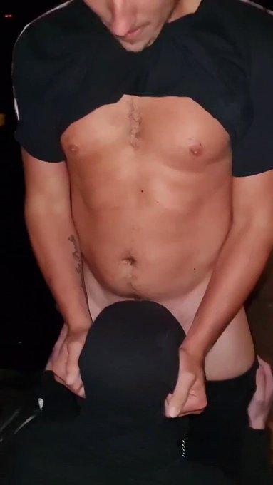 Sucking are Dicks using his throat like a Slut!😈🍆💦🤤 @MANCSNIPERXXX #gay #chav #MercedesBenz #dick #throated