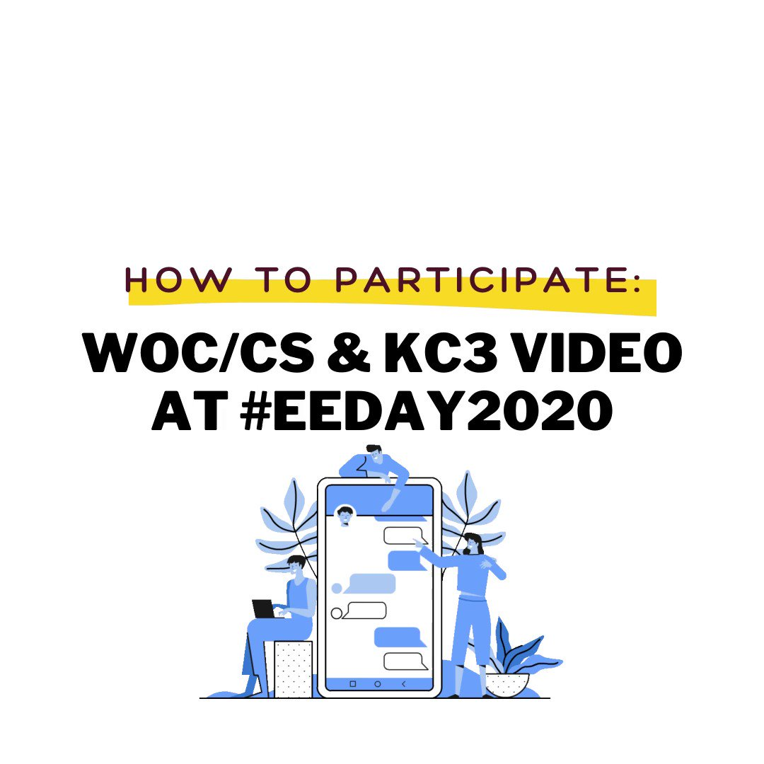 Are you interested in being highlighted during our event?!  #BIPOC  in the #energytwitter send us your videos & we'll highlight you on  #EEDAY2020 ! @WOC__CS @EfficiencyDay @GreenLatinos @energy_NYC @eefaorg @nytclimate https://t.co/To7RyRtLlW