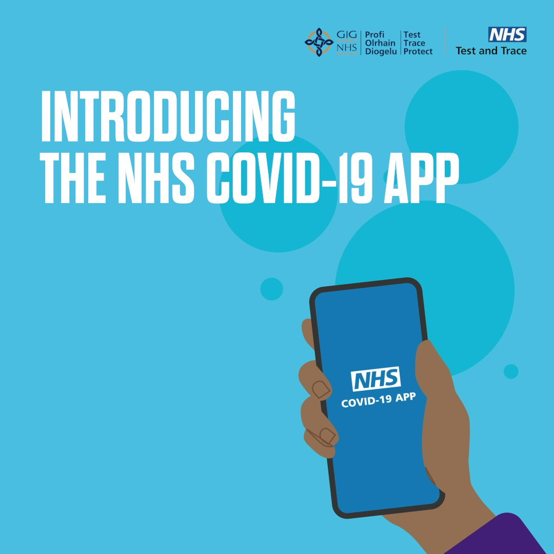 We're very proud to have been working on the launch of the #NHSCOVID19app today and raising awareness through broadcast media of just how important it is that we all download the app to help protect the most vulnerable in our society. Links to download below: