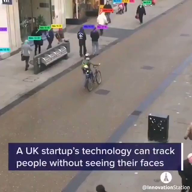 A UK startup's #technology can track people without seeing their faces by @InnovationStation  #AI #IoT #FacialRecognition #ArtificialIntelligence #InternetofThings #Tech #Innovation  Cc: @towards_ai @thomas_harrer @ipfconline1