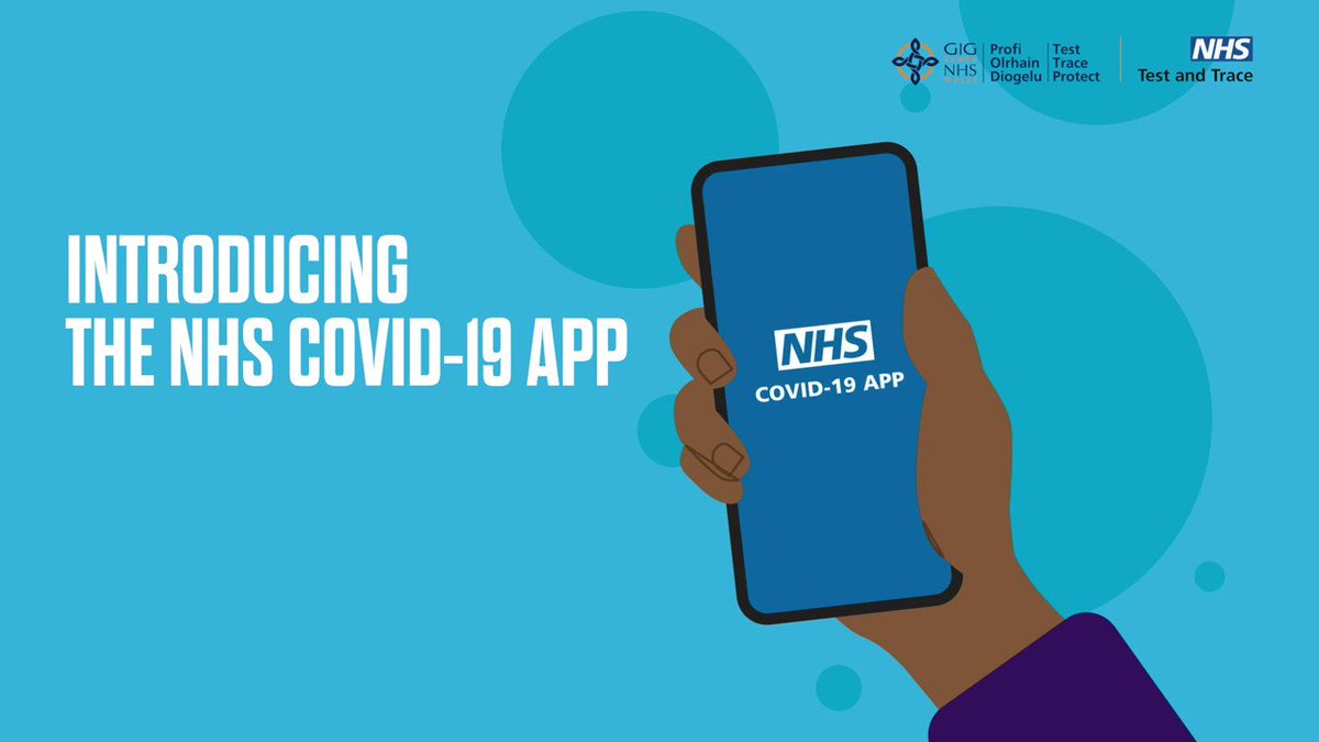 Image for the Tweet beginning: The #NHSCOVID19app is now available