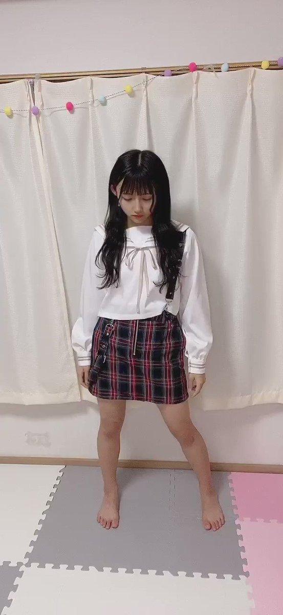 今日は #制服レジスタンスです!! 🖤💙❤️ #毎日AKBさんダンス  #みゆみゆをユニット選抜に
