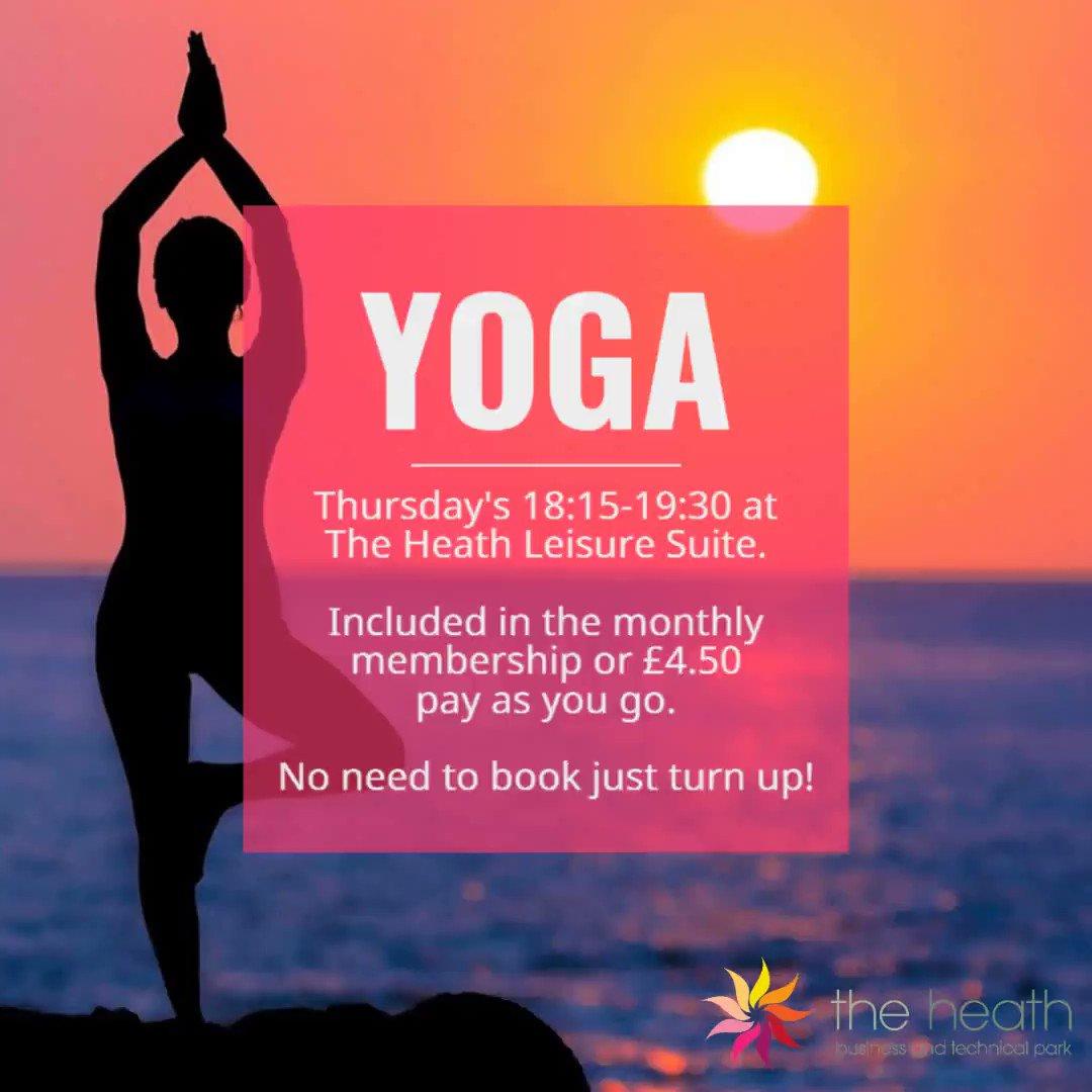 Image for the Tweet beginning: Yoga tonight 18:15-19:30