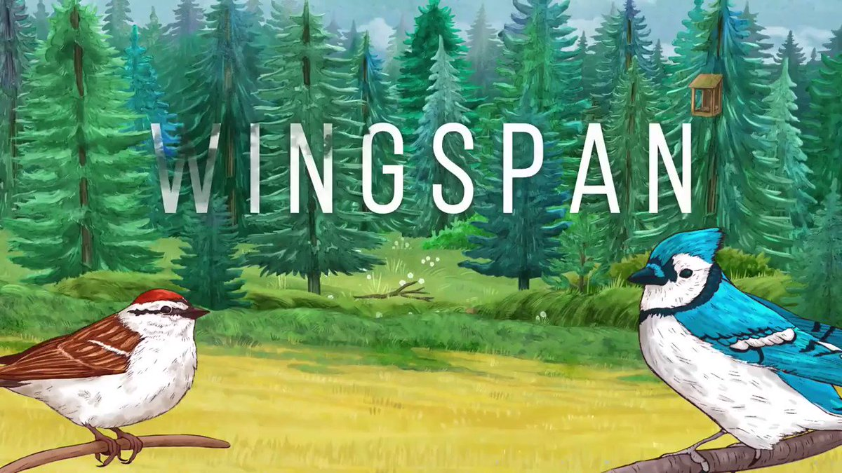 Out now, Wingspan is a relaxing strategy card game about birds. Add birds to your preserve to lay eggs, draw cards, or gather food. Many have powers that echo real life: hawks will hunt, pelicans will fish, and geese will form a flock. @monstercouch | store.steampowered.com/app/1054490