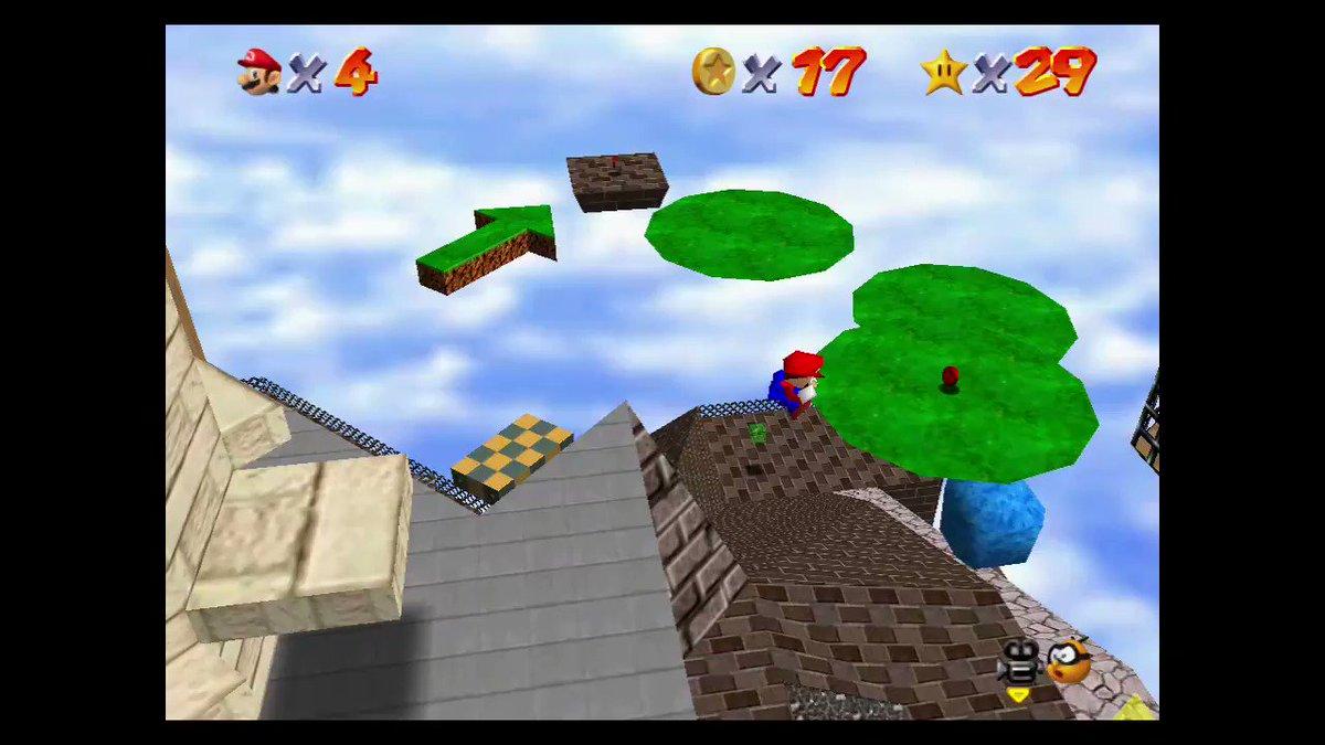 マリオが #SuperMario3DCollection #スーパーマリオ3Dコレクション #NintendoSwitch