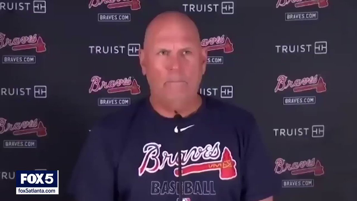 #Braves fans ... exhale. Max Fried's ankle is just fine. Here's Brian Snitker ⬇️