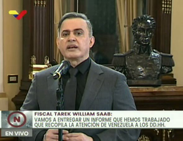 #EnVideo 📹| Fiscal General @TarekWiliamSaab: Desde 1999 Venezuela comenzó a ser víctima (de ataque en materia de DDHH) #MaduroVictoriosoEnLaONU