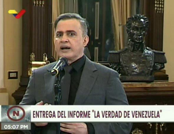 #EnVideo 📹| Fiscal General @TarekWiliamSaab: En nombre de la lucha contra el terrorismo, países de la Unión Europea, vinculados a la OTAN y a EE.UU., han practicado terrorismo #MaduroVictoriosoEnLaONU