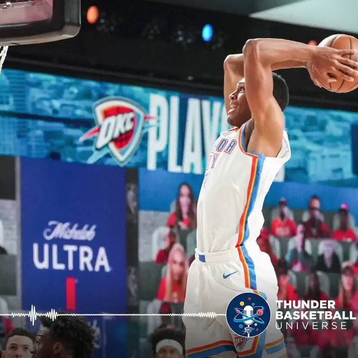 Getting stronger and growing in confidence throughout the season.  @BazleyDarius joins the crew on the Thunder Basketball Universe Podcast 🎙️  Apple: https://t.co/VIzIkukrCZ Spotify: https://t.co/j3VcASuqPF https://t.co/pqeK454cAe