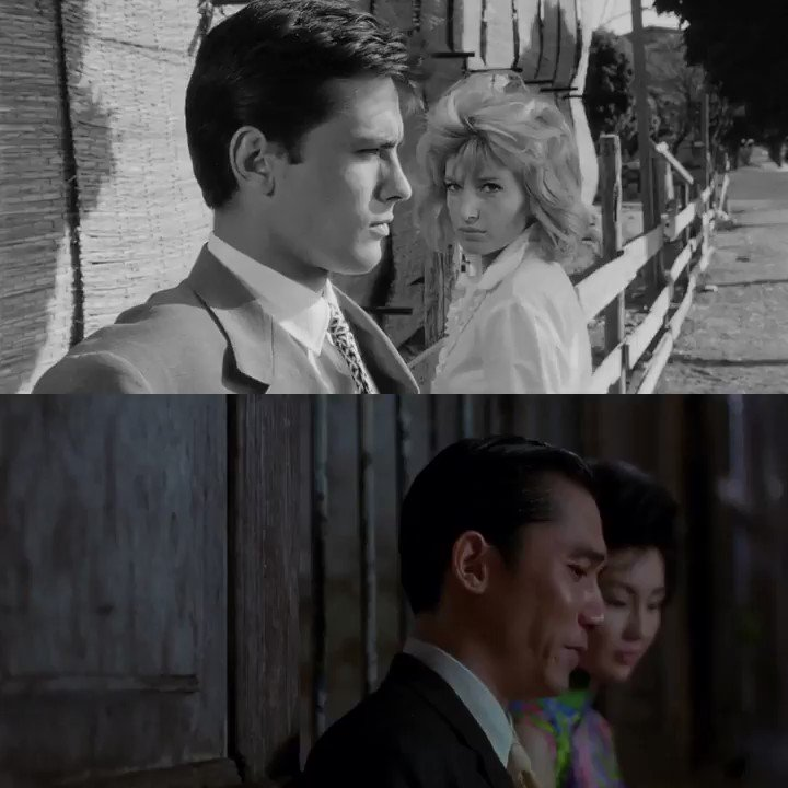 L'Eclisse / Michelangelo Antonioni In the Mood for Love / Wong Kar-Wai https://t.co/Y2SVtqcamQ