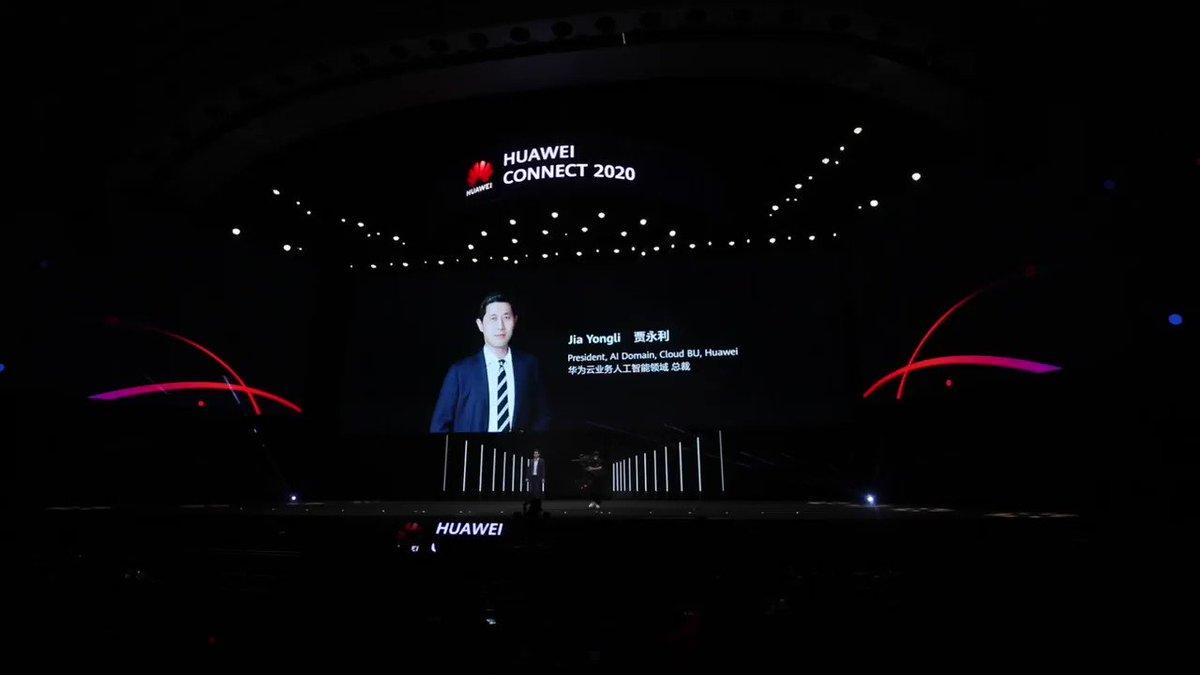 Jia Yongli, Presidente de IA y Cloud BU de Huawei, presentó la solución Knowledge Computing de #Huawei, que combina tecnologías de IA con el conocimiento de la industria en el día 2 de #HuaweiConnect 2020. Leer más: https://t.co/dj35FhcsXW https://t.co/lUIvl4XxRQ
