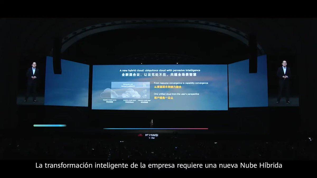 Lv Yangming, Presidente de la Nube Híbrida de Cloud BU de #Huawei,  explicó por qué las empresas necesitan una nueva solución de nube híbrida, en el día 2 de #HuaweiConnect 2020. Leer más: https://t.co/dj35FhcsXW https://t.co/hW69YAhfqL