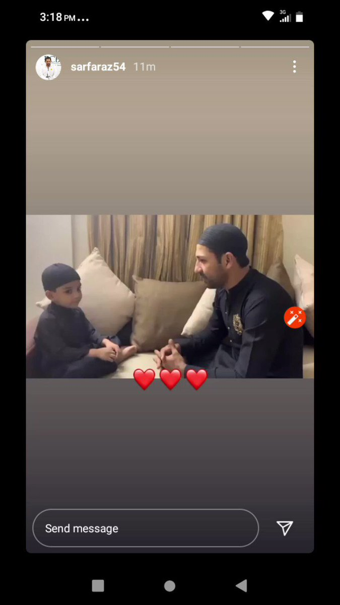 @SarfarazA_54 reciting Alhamd Shareef With @Abdulahsarfaraz Say MashaAllah 💝😍✨  #SarfarazAhmed https://t.co/nQYE0ftPmh