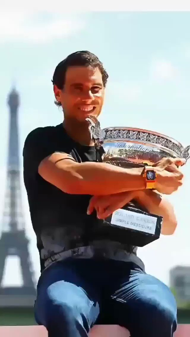 @RafaelNadal Goes for No. 13 in #France  Ready to defend his French Open title | #RolandGarros https://t.co/jI9BzG0vQI